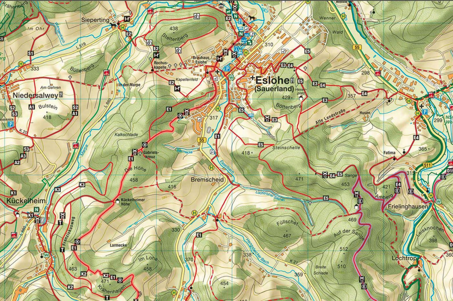 Wanderwege Im Sauerland Direkt Am Hotel Berghotel Habbel